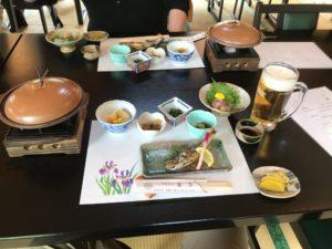 南木曽昼食
